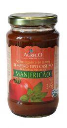 Molho de Tomate Orgânico (TRADICIONAL / MANJERICÃO) 325g - Agreco
