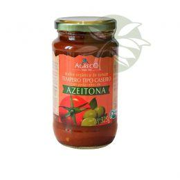 Molho de Tomate Orgânico AZEITONA 325g - Agreco