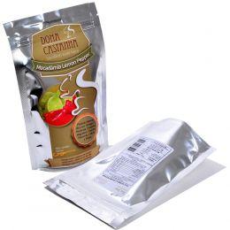 Macadâmia (Sabores Lemon Pepper - Defumada Salgada) 100g - Dona Castanha