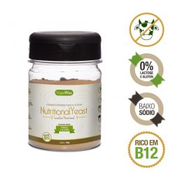 Nutritional Yeast sabor Fumaça e Alecrim (Levedura Nutricional) 100g - VeganWay