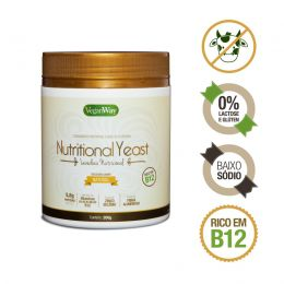 Nutritional Yeast sabor Natural (Levedura Nutricional) 200g - VeganWay