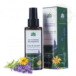 Óleo de Massagem Relaxante (Arnica & Lavanda) 120ml - WNF