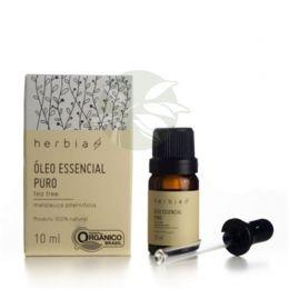 Óleo Essencial Puro Tea Tree (Melaleuca) Orgânico 10ml -  Herbia