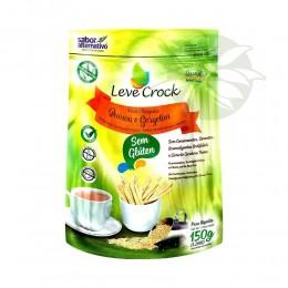 Palitos Salgados de Quinoa e Gergelim 150g - Leve Crock