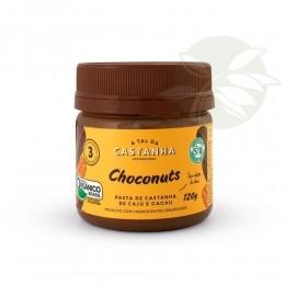 Pasta de Castanha de Caju Orgânica CHOCONUTS 120g - A tal da Castanha