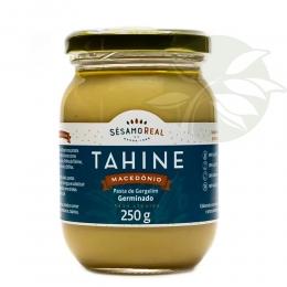 Pasta de Gergelim Germinado - TAHINE MACEDÔNIO 250g - Sésamo Real
