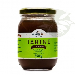 Pasta de Gergelim TAHINE CACAU 250g - Sésamo Real