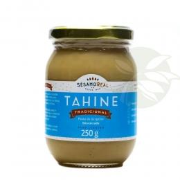 Pasta de Gergelim - TAHINE TRADICIONAL 250g  - Sésamo Real