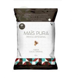 Pipoca Artesanal Cacau Original 150g - Mais Pura