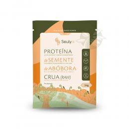 Proteína de Semente de Abóbora Crua Sachê 34g - Souly