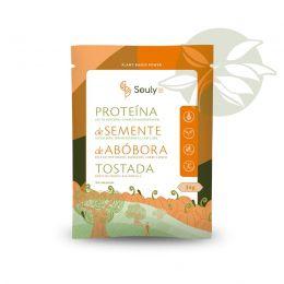 Proteína de Semente de Abóbora Tostada Agroecológica 34g - Souly