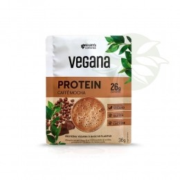 Proteína Vegana Caffe Mocha 36g - Harts Natural