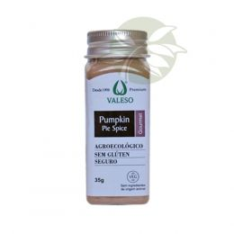 Pumpkin Pie Spice Gourmet  (Mix p/ receitas Doces & Salgadas) 35g - Valeso