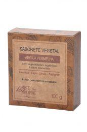 Sabonete de Argila em Barra  (Vermelha / Verde) 100g - Arte dos Aromas