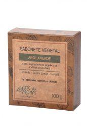 Sabonete de Argila Verde Arte dos Aromas 100g