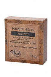 Sabonete Barra Esfoliante Cristais 100g - Arte dos Aromas