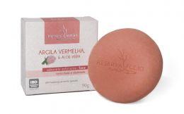 Sabonete Facial Argila Vermelha e Aloe Vera  90g - Reserva Folio