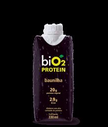 Shake Protein Baunilha e Cacau Maca Peruana 330ml - biO2