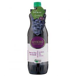 Suco de Uva Orgânico Bordô (1 litro / 300ml)  - UvaSó