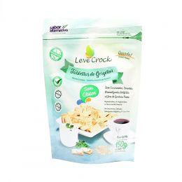Biscoito Tabletitos de Gergelin (SEM GLÚTEN) 150g - Leve Crock