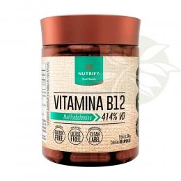 Vitamina B12 (Metilcobalamina) 60 Cápsulas - Nutrify