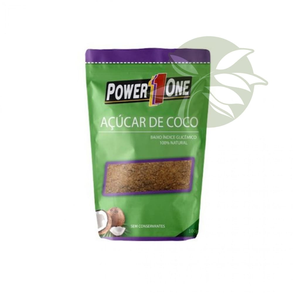 Açúcar de Coco 100g - Power One