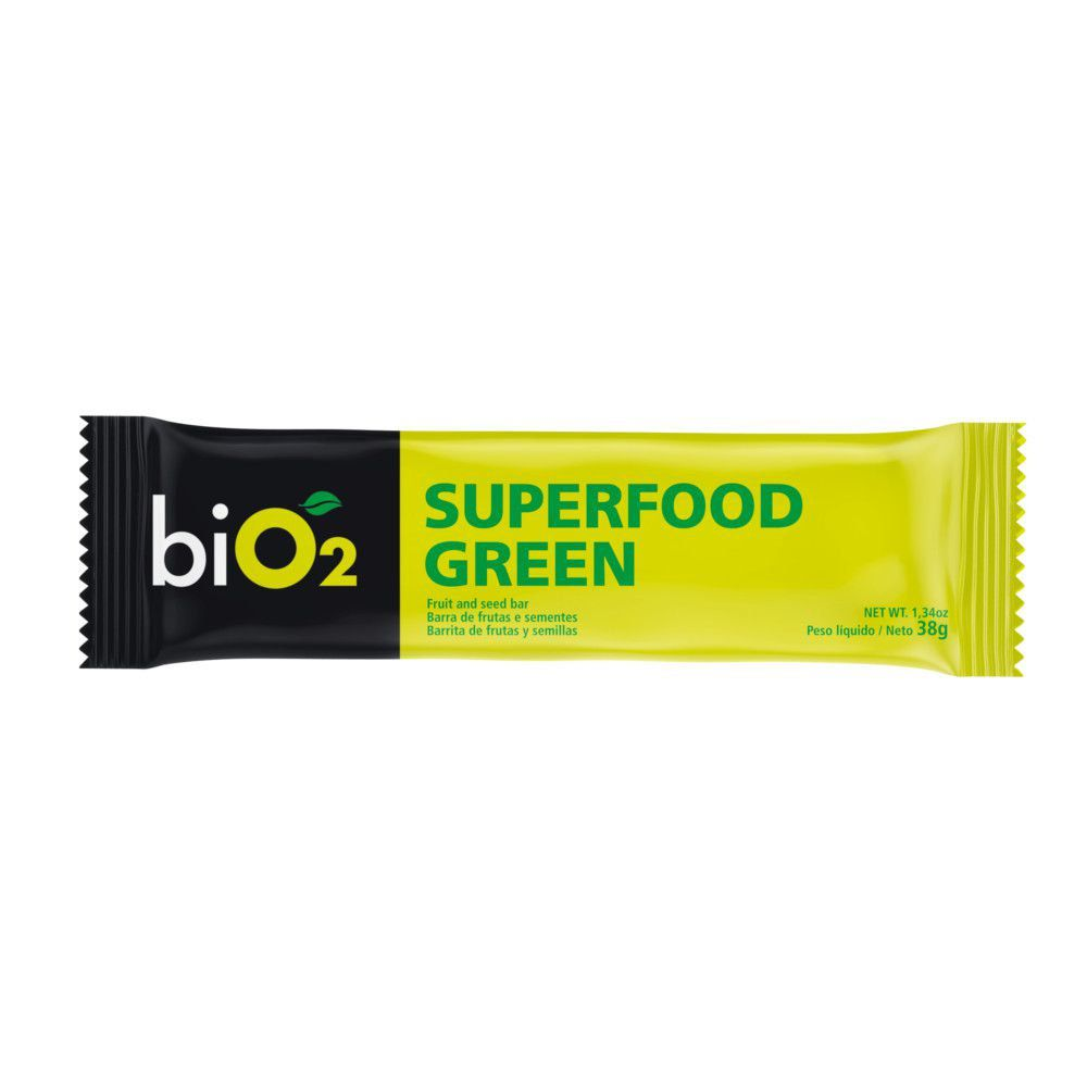 Barra Superfood Green 38g - biO2