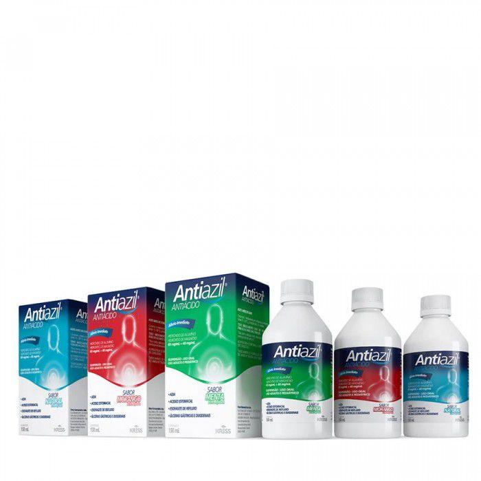 Antiazil - 150ml - Sabor Menta - Zero Açúcar