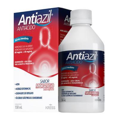 Antiazil - 150ml - Sabor Morango - Zero Açúcar