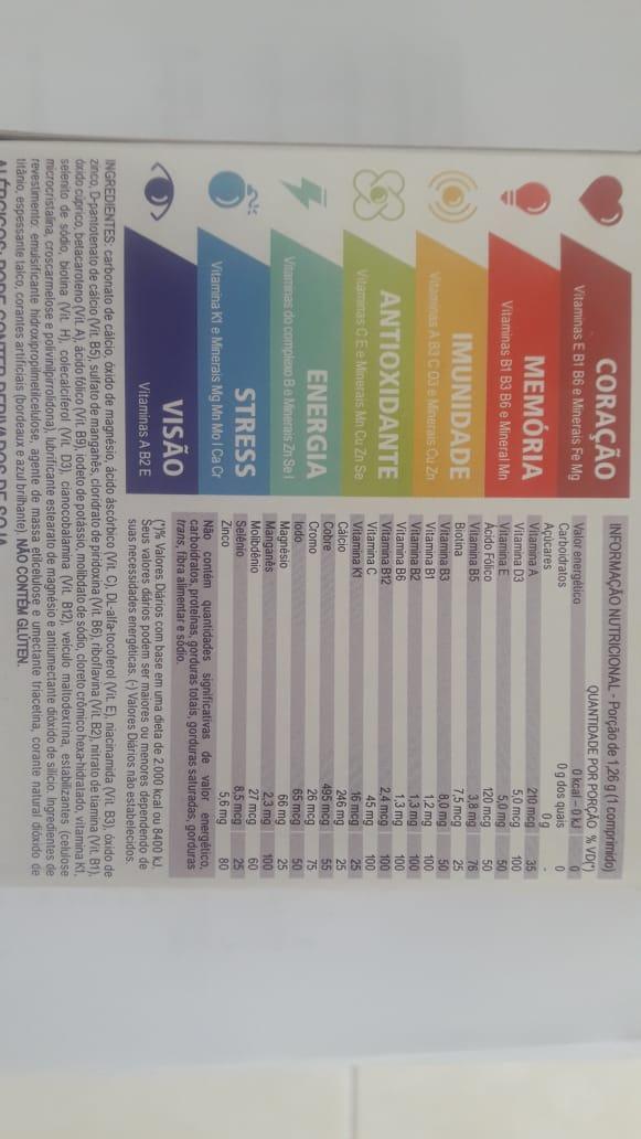CentroLiv Mulher +50 - c/30 Comprimidos