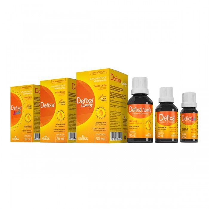 Defixa Family 50ml - Sabor Limão - Zero Açúcar -