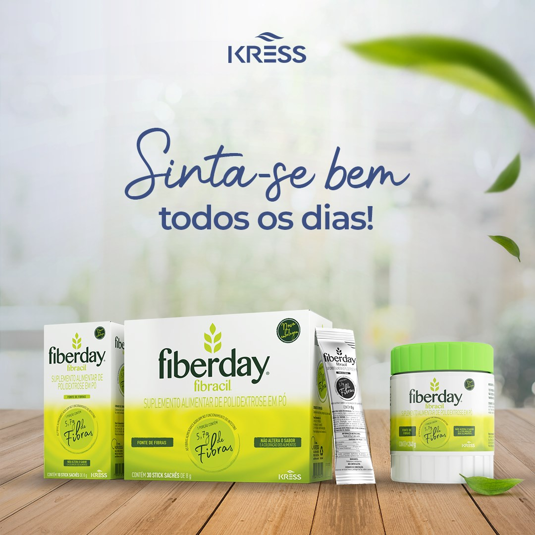 Fiberday Pote - 240 g - Sem Sabor