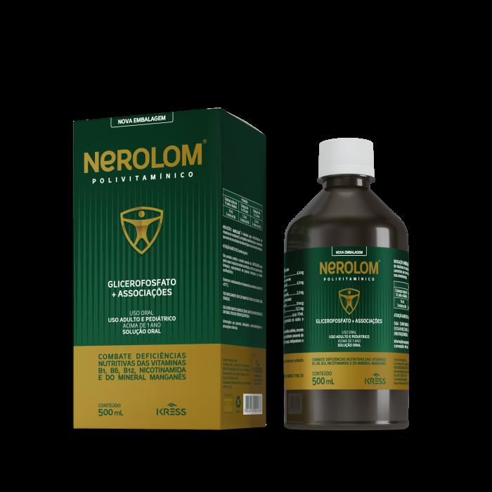Nerolom Polivitamínico - Sabor Laranja - 500ml