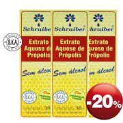 Extrato de Própolis Aquoso - Pacote com 3