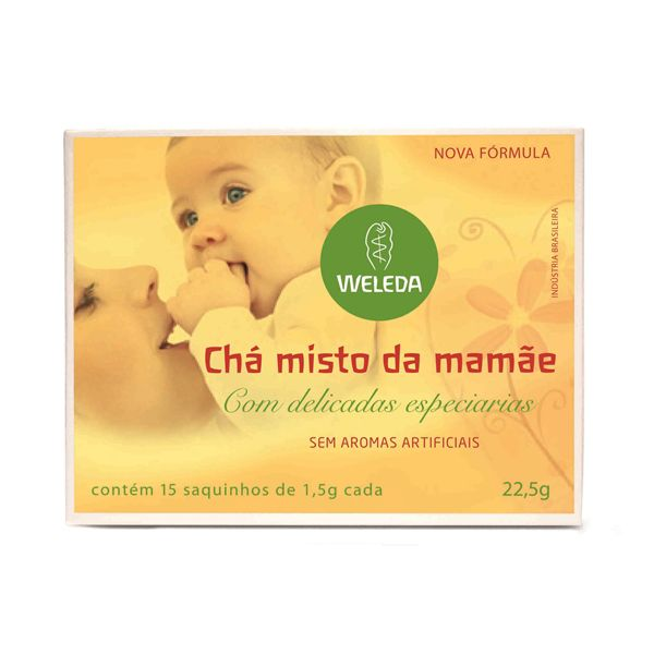 Chá Misto da Mamãe com Delicadas Especiarias - 15 sachets