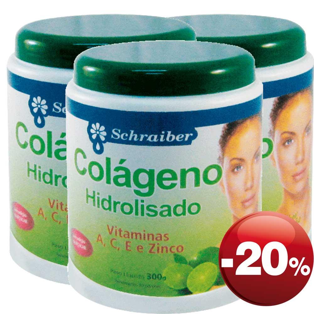 Colágeno - Sabor Limão - Pacote com 3