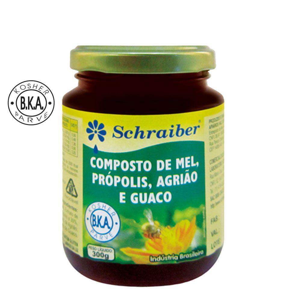 Composto de Mel, Própolis, Agrião e Guaco