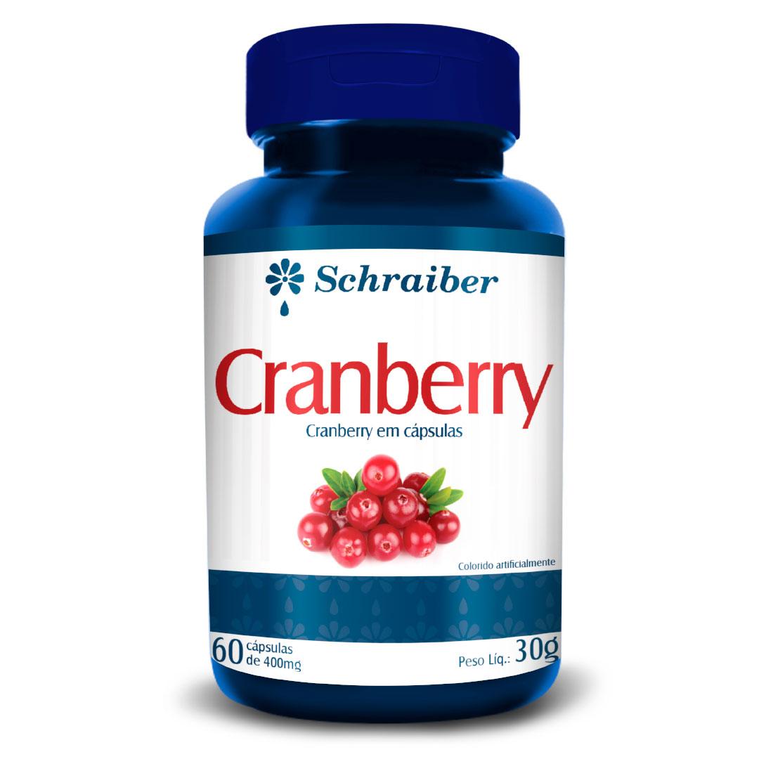 Cranberry em Capsulas 400mg