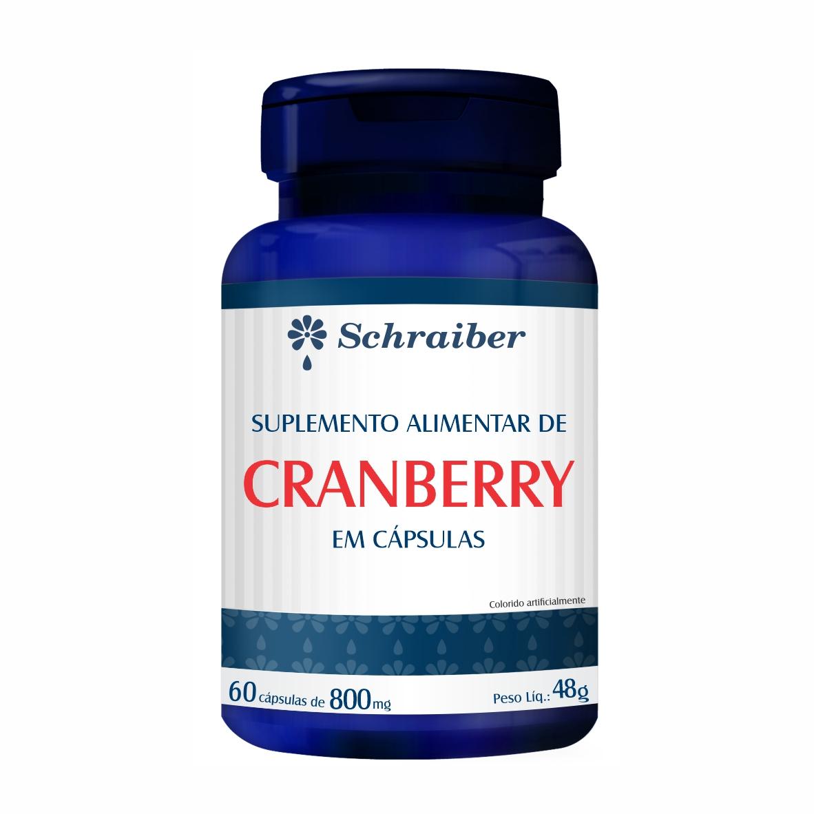 Cranberry em Capsulas 800mg