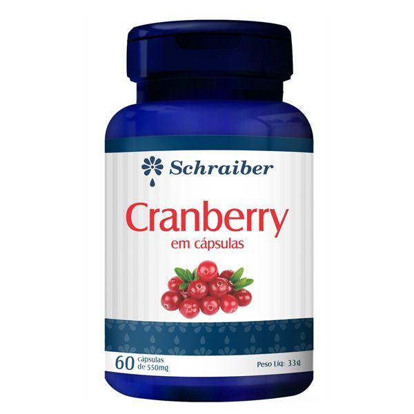 Cranberry em Capsulas - Pacote com 3