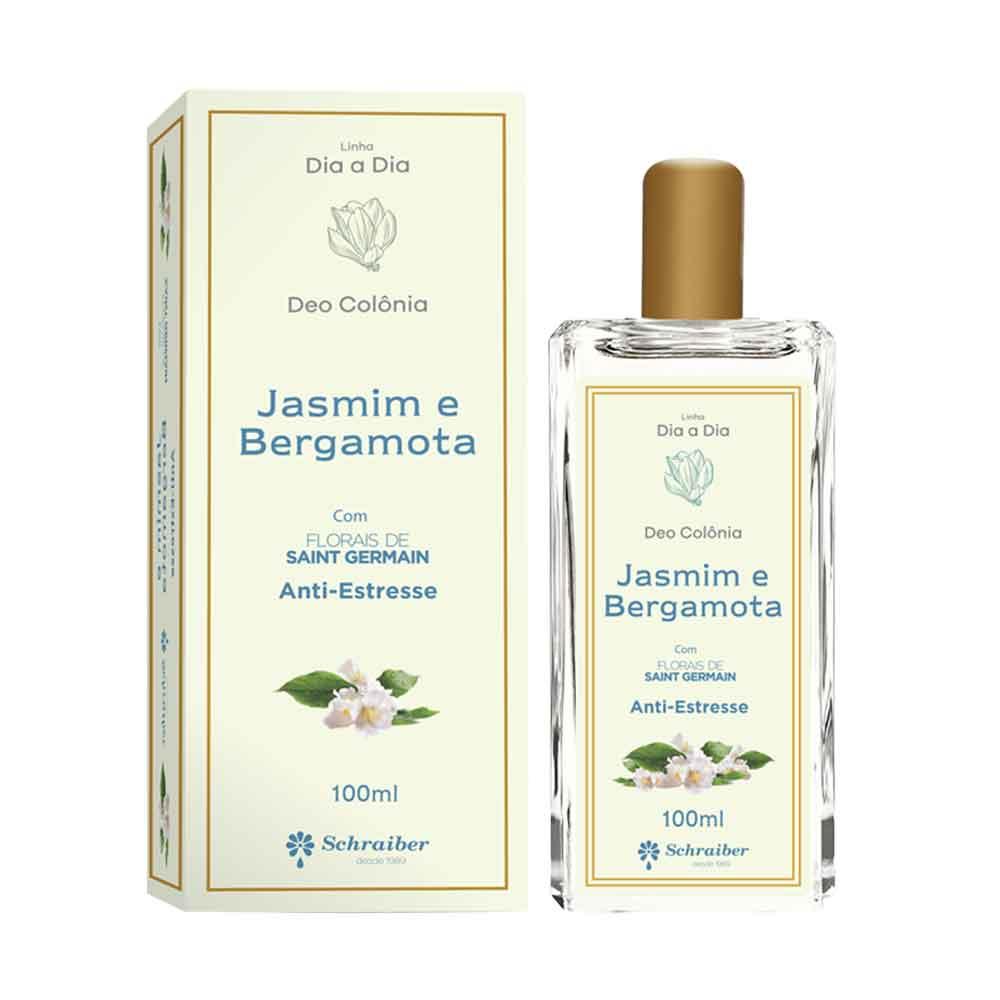 Deo colônia Jasmin e Bergamota com florais Saint Germain Anti Estresse