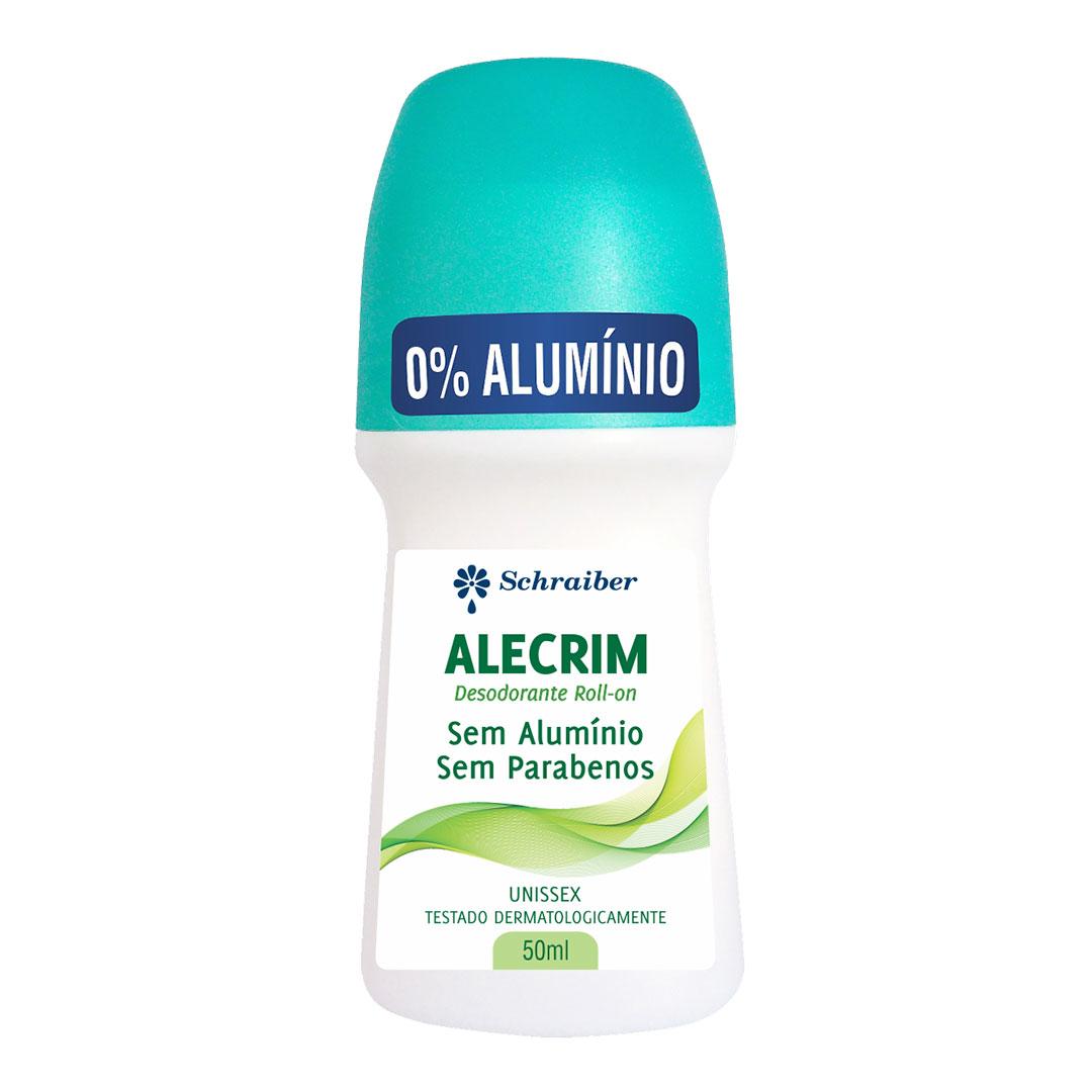 Desodorante Sem Alumínio e Sem Parabenos Alecrim - 50ml
