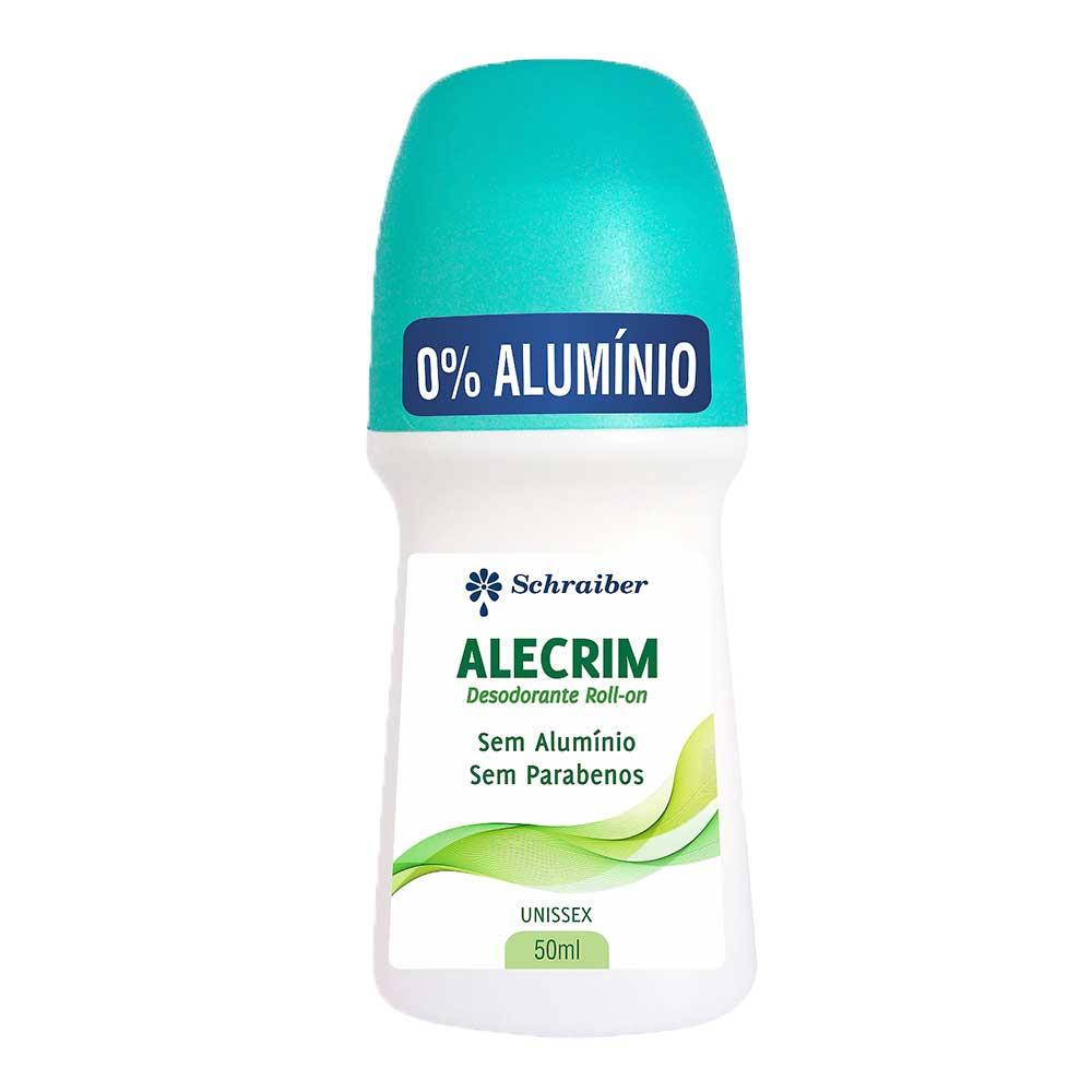 Desodorante Sem Alumínio e Sem Parabenos Alecrim - PAC c/3