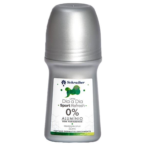 Desodorante Sem Alumínio e Sem Parabenos  Sport Refresh - 50ml