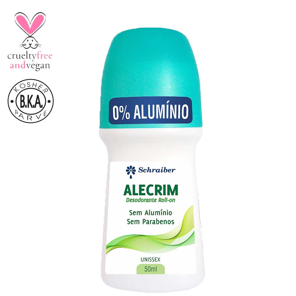 Desodorante sem alumínio Roll-on de Alecrim - 50ML