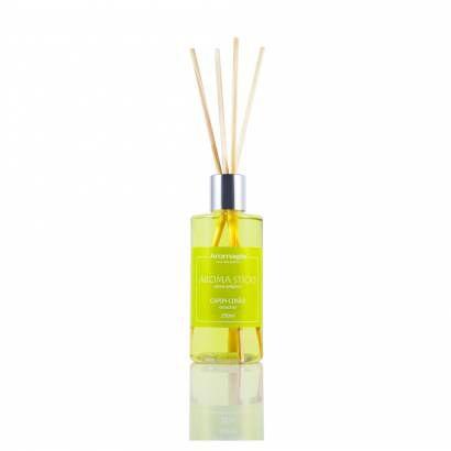 Difusor por varetas Aroma Sticks Capim Limão 250ML - Aromagia