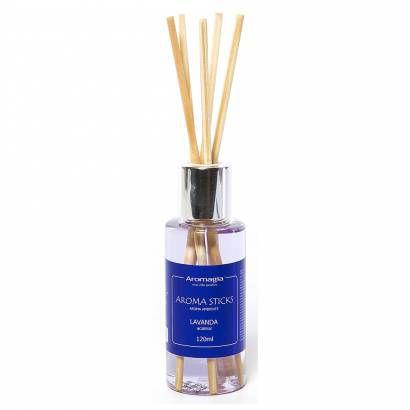 Difusor por varetas Aroma Sticks Lavanda 120ML - Aromagia