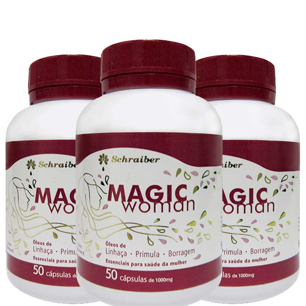 Magic Woman - Kit com 3 unidades