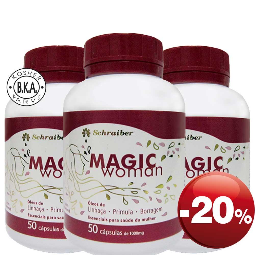 Magic Woman - Pacote com 3