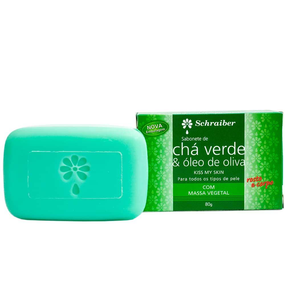 Sabonete Chá Verde - 80g.